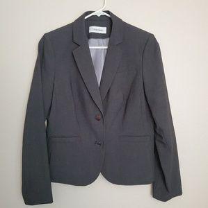 Grey Calvin Klein Blazer